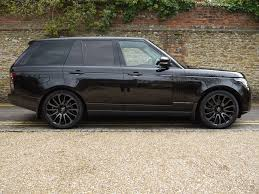 range rover autobiography black edition range rover autobiography black pack 4 4 sdv8 surrey near