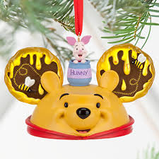 pooh disney ornament mickey ears hat collectible disney