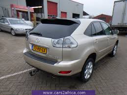 lexus rx 400h hybrid 2005 cars2africa