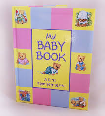 baby book treasured memories my baby book five year baby record book
