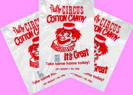 cotton candy bags wholesale 25 top quality 12x18 inch cotton candy bags with ties printed