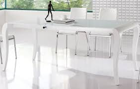 white dining room tables white contemporary dining table