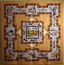 Mt Diablo State Park Map by Quilt Gallery 126 156