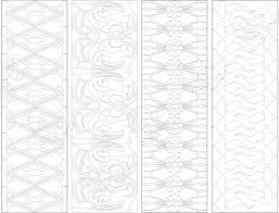 bookmark pattern 2 bookmark instant download birthday activity
