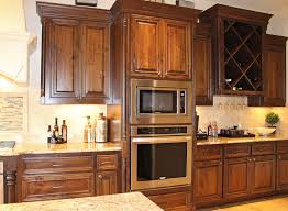 kitchen cabinets in knotty alder by burrows cabinets central