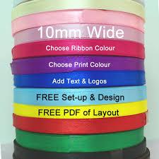 printed ribbons personalised printed ribbons custom printed ribbons free uk delivery
