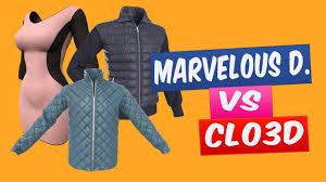 clo3d vs marvelous designer crie roupas para jogos 3d youtube