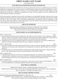 Maintenance Technician Resume Examples by Instrument Commissioning Engineer Resume Sample