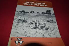 massey ferguson row crop cultivator dealer u0027s brochure dcpa