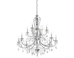 Gallery 74 Chandelier Jules Collection 12 Light Chandelier In Polished Chrome