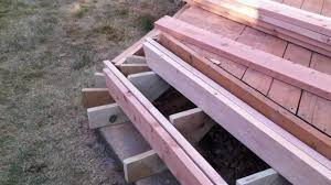 Corner Deck Stairs Design Installing Deck Stairs And Steps Part 2 Denver Deck Builder