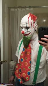 Scary Clown Halloween Costumes Men Evil Killer Clowns Couple U0027s Halloween Costume Photo 2 5
