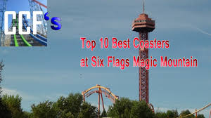 Six Flags Magic Mountain by Ccf U0027s Top 10 Best Coasters At Six Flags Magic Mountain U2013 Crazy