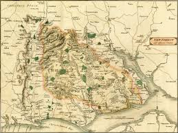 The Forest Map Map Of The New Forest In 1811 By Barefootliam On Deviantart