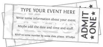 ticket template free printable event ticket templates free printables