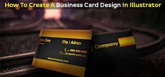 Designing Business Cards In Illustrator Create A Business Card Design In Illustrator