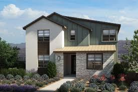 modern farmhouse elevations plan 3 strada at pivot las vegas pardee homes