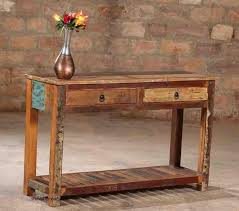 Reclaimed Wood Console Table Wholesale Reclaimed Wood Console Table Manufacturer Supplier
