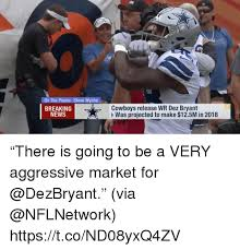 Dez Bryant Memes - on the phone steve wyche cowboys release wr dez bryant was projected