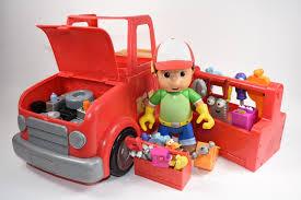 talking handy manny 2 1 transforming fix truck tool kit