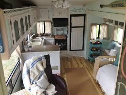 Camper Trailer Interior Ideas Shasta Camper Remodel Ideas Th Wheel Trailer Travel Interior Popup