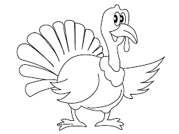 free printable turkey coloring pages kids animal place