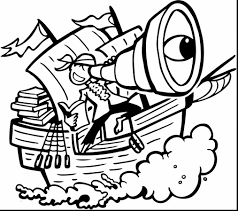 fresh pirate ship coloring page 2 9345