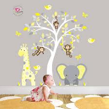 Monkey Decor For Nursery From Inspiration To Installation Diy Vinyl Design Will Help Make