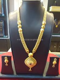 gold haram sets 67 grams weight gold haram set gold necklaces gold and india