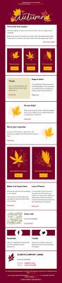 thanksgiving newsletter template cakemail