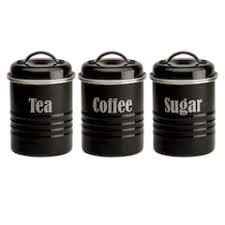 black canister sets for kitchen black canisters jars food storage kitchen dining kohl s