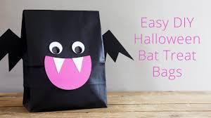 live easy diy halloween bat treat bags free templates youtube