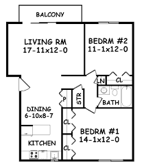 Two Bedroom Floor Plan by Small Mother In Law Addition Mother In Law Suite Floor Plans