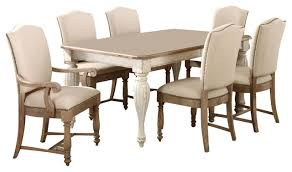Coventry Dining Table Riverside Furniture Coventry Two Tone Dining Table In Weathered
