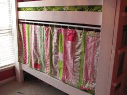Ikea Bunk Bed Tent Bunk Bed Privacy And Nice Idea For Simple Bookshelf And Lighting