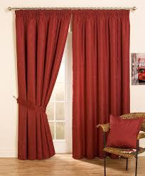 Pencil Pleat Curtain Tape Cheap Full Lined Tape Top Pencil Pleat Jacquard Curtains U0026 Thermal