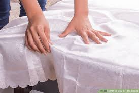 Where To Buy Table Linens - how to buy a tablecloth 9 steps with pictures wikihow