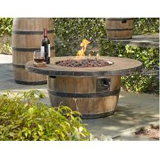 wine barrel fire table wine barrel firepit 40 inch fire pits outdoor outdoor