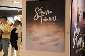 68 photos take a sneak peek inside shania twain u0027s new exhibit at