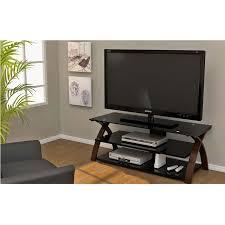 Z Line Designs Computer Desk Z Line Designs Willow 58 Inch Tv Stand Espresso And Black Glass