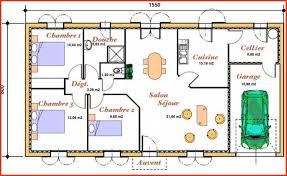 plans maisons plain pied 3 chambres plan de maison plain pied gratuit 3 chambres lovely plan maison