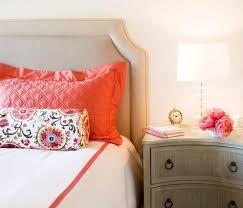 gray nightstand transitional bedroom amanda teal design
