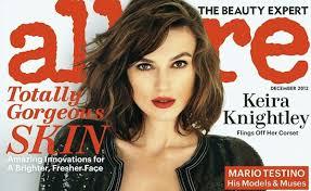 keira knightley s sexy alluring and semi topless allure magazine