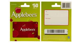 applebee gift card free applebees gift card gift card ideas