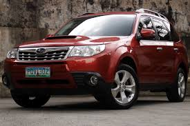 red subaru forester review 2012 subaru forester xt philippine car news car reviews