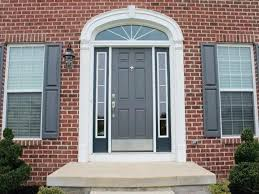 red brick house color schemes red brick house front door color ideas front door paint colors red
