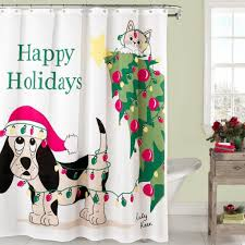Winter Scene Shower Curtain by Top 40 Beautiful Designs Of Christmas Bathroom Curtains