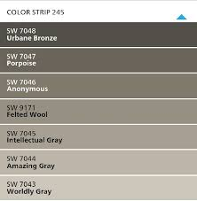 sherwin williams perfect gray colors for the house these colors