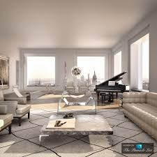 New York Apartments Floor Plans 79 5 Million Luxury Penthouse U2013 Ph92 432 Park Avenue New York
