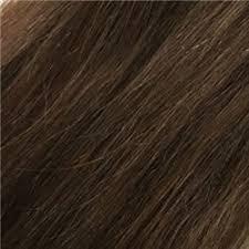 uniwigs halo wavy medium brown hair extentions 4 7 4 7 demi vrigin remy human hair topper with bangs uniwigs